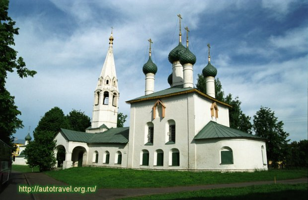 Церковь Николы Рубленый Город