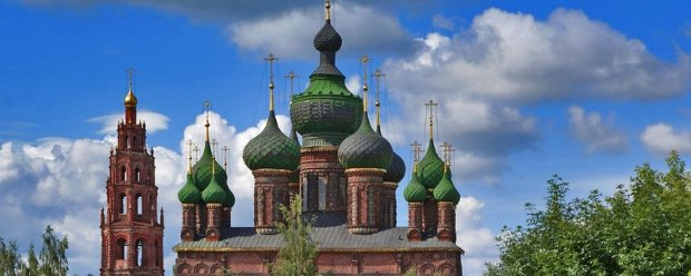 Церкви и монастыри Ярославля