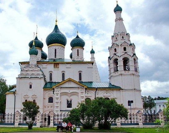 В Ярославле много святых мест