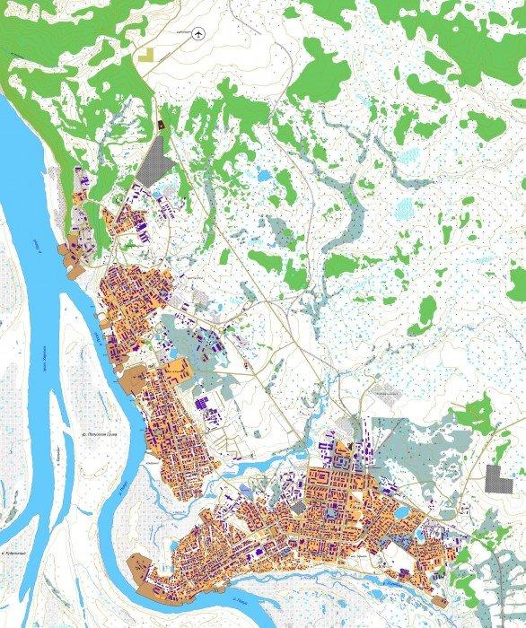 Карта ярославля и области с