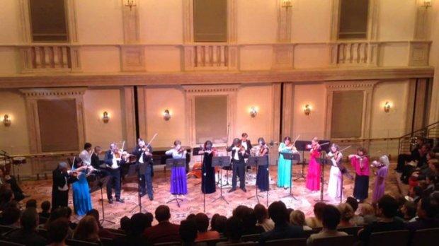 скрипачей Большого театра
