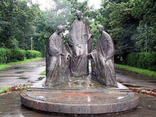 памятники пушкина в питере