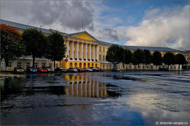 Старый город Ярославль дух