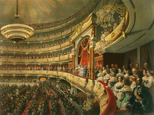 Театр из Императорской ложи