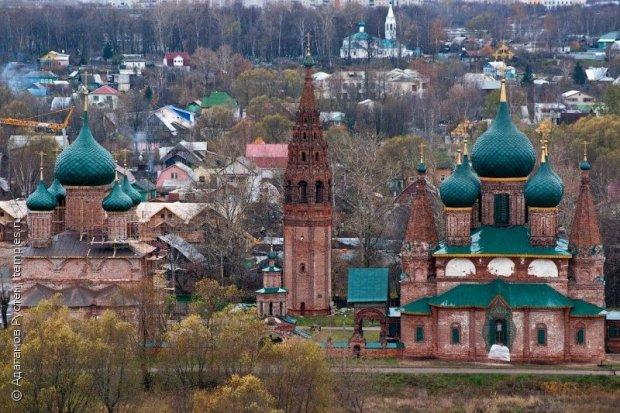 и Златоустовская церкви в