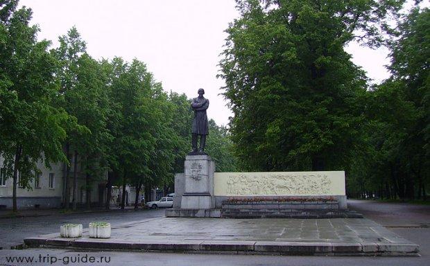 Ярославль, памятник Некрасову